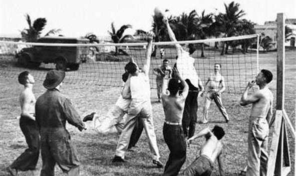 Пляжный волейбол история