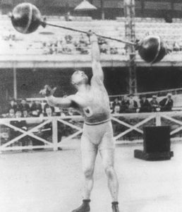 Тяжелая атлетика Олимпийские игры 1924 года