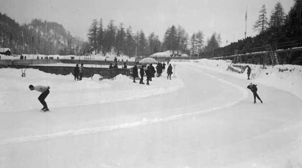 Скоростной бег на коньках на зимней Олимпиаде 1928 года