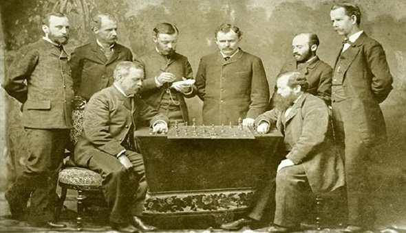 Вильгельм Стейниц 1883 год