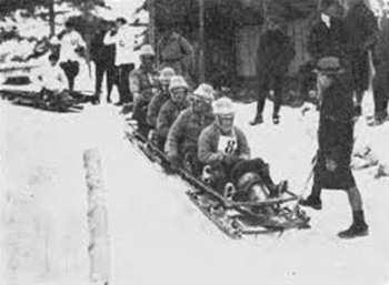 Бобслей на Олимпийских играх 1924 году в Шамони