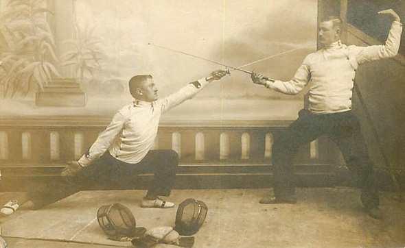 История фехтования