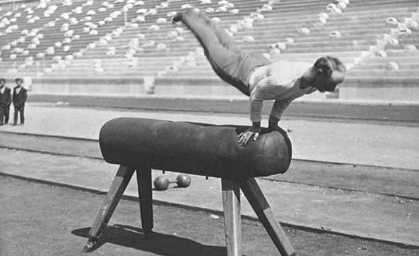 История спортивной гимнастики