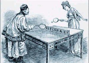 История настольного тенниса