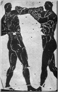 Античные кулачные единоборства