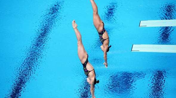 Прыжки с трамплина в воду