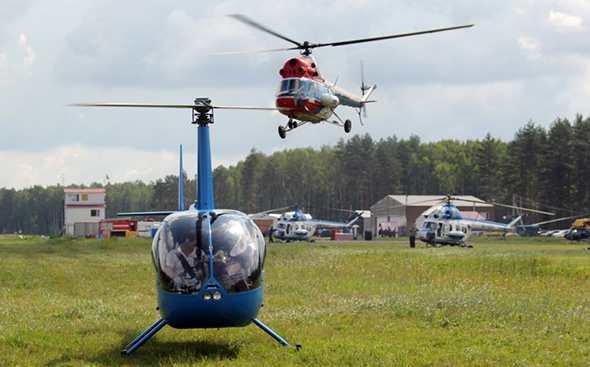 История вертолетного спорта
