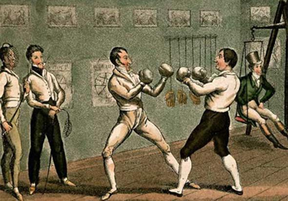 История боксерских перчаток