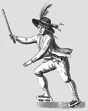 Джозеф Мерлин 1760 г.