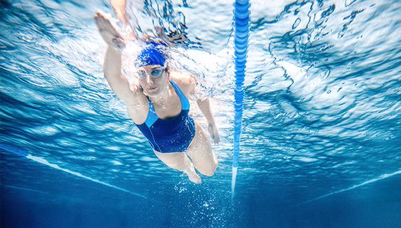 причины заниматься плаванием